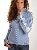 Dale of Norway Celebration Sweater Women's (Ice Blue)