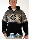 Dale of Norway Dronning Maud GORE Windstopper Sweater (Black)