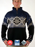 Dale of Norway Dronning Maud GORE Windstopper Sweater (Navy)