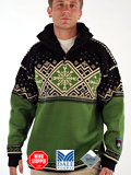 Dale of Norway Dronning Maud GORE Windstopper Sweater (Grass Green)