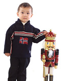Dale of Norway Eidsvoll Kids Sweater (Midnight Navy)