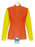 Dale of Norway Feminine Base Layer Duotone Top (Orange)