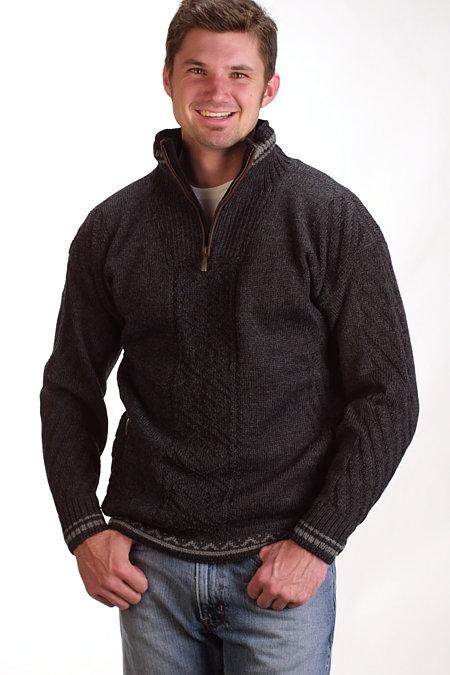 Dale of Norway Finnskogen Sweater (Dark Charcoal)