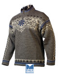 Dale of Norway Finse GORE Windstopper Sweater (Grey)