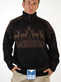 Dale of Norway Fossheim Sweater (Black)