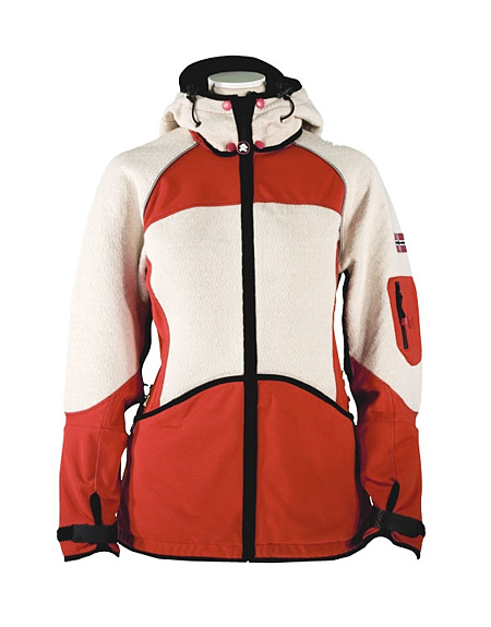 Dale of Norway Gautefall Knitshell Jacket Women's (Orange / Off-