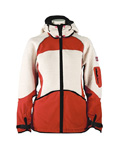 Dale of Norway Gautefall Knitshell Jacket Women's (Orange / Off-white)