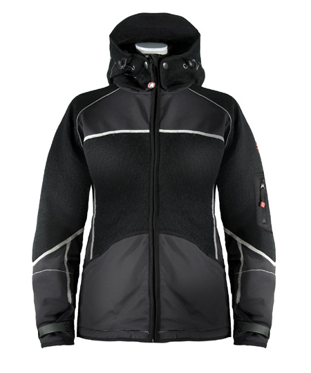 Dale of Norway Gautefall Knitshell Jacket Women's (Black / Black