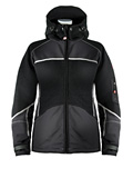 Dale of Norway Gautefall Knitshell Jacket Women's (Black / Black / White)