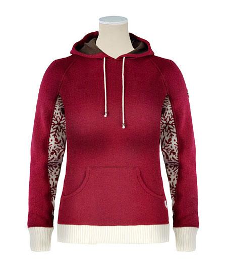 Dale of Norway Glitterheim Sweater Women's (Off White / Vino Tin