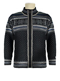 Dale of Norway Grotli Cardigan (Black / Off White)