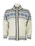 Dale of Norway Grotli Cardigan (Cream / Bluebird / Light Charcoa)