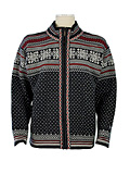 Dale of Norway Grotli Cardigan (Dark Charcoal / Heather / Cream)