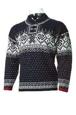 Dale of Norway Hardangerfjorden Sweater (Dark Charcoal)
