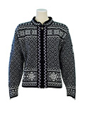 Dale of Norway Harmony Cardigan Women's (Black / Of-White)