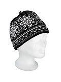 Dale of Norway Harmony / Peace Hat Women's (Black / Off-white)