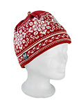 Dale of Norway Harmony / Peace Hat Women's (Red Rose / Off-white)