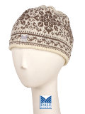 Dale of Norway Harmony / Peace Hat Women's (Off-white / Taupe)