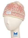 Dale of Norway Harmony / Peace Hat Women's (Off-white / Candy Pink)
