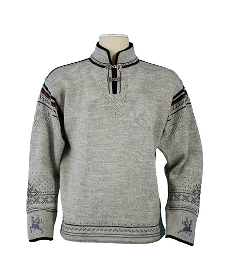 Dale of Norway Ibsen Sweater Men's (Light Charcoal Heather / Smo