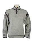 Dale of Norway Ibsen Sweater Men's (Light Charcoal Heather / Smoke)