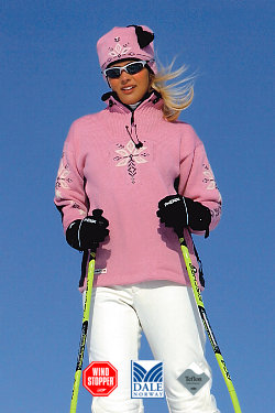 Dale of Norway Istind Windstopper Sweater Women's (Pink)