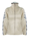 Dale of Norway Istind Windstopper Jacket Women's (Cream / Indigo / Ice Blue)