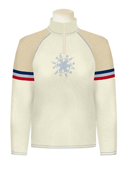 Dale of Norway Keystone Sweater Women's (Off-white / Foam / Torero )