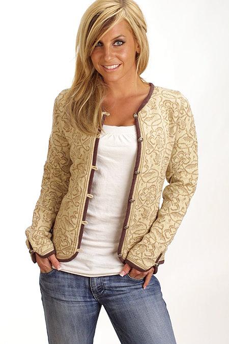 Dale of Norway Kongsvold Sweater Women's (Vanilla)