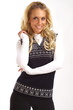 Dale of Norway Kvaeven Sweater Vest Women's (Black)