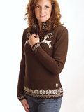 Dale of Norway Lappland Sweater Women's (Mocca)