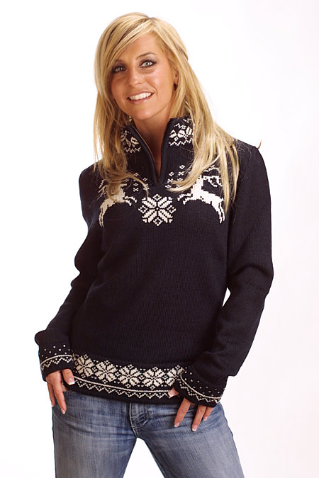 Dale of Norway Lappland Sweater Women's (Black)