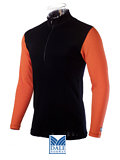 Dale of Norway Masculine Base Layer Duotone Top (Black / Orange)