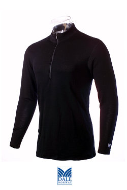 Dale of Norway Masculine Base Layer Top (Black)