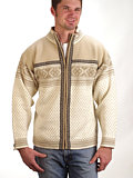 Dale of Norway Otra Cardigan Men's (Off-white)