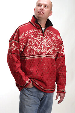 Dale of Norway Park City GORE Windstopper Sweater (Raspberry)