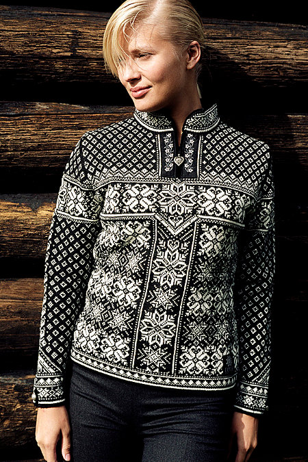Dale of Norway Peace Sweater (Black)