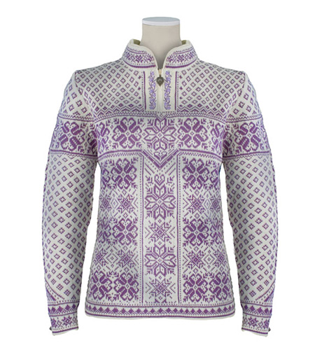 Dale of Norway Peace Sweater Women's (Off White / Grape Jam)