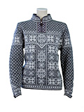 Dale of Norway Peace Sweater Women's (Smoke / Off White)