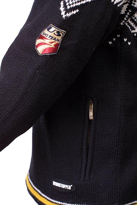 Dale of Norway Portillo GORE Windstopper Sweater (Black)