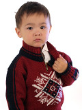 Dale of Norway Portillo Kids Sweater (Redrose)