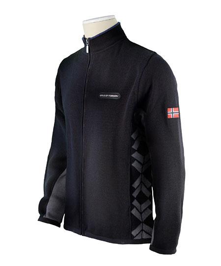 Dale of Norway Preikestolen Merino Wool Jacket Men's (Black / Sm