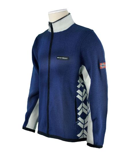 Dale of Norway Preikestolen Merino Wool Jacket Men's (Indigo / O