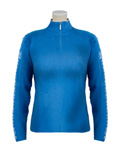 Dale of Norway Rivtind Sweater Women's (Dutch Blue / Off White / Silver)