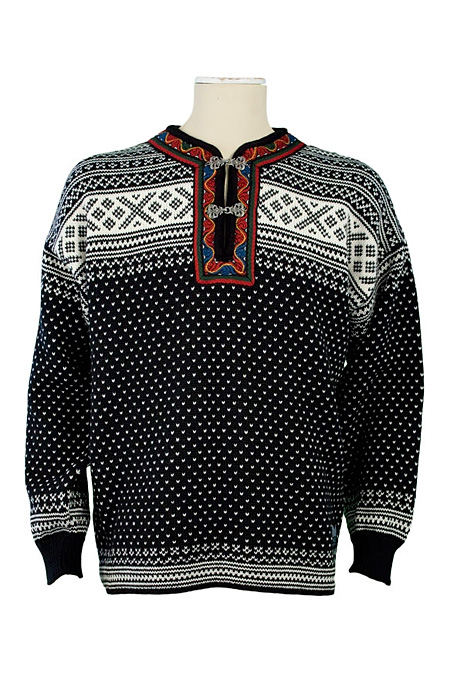 Dale of Norway Setesdal Sweater (Black / Off White)