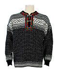 Dale of Norway Setesdal Sweater (Black / Off-white)