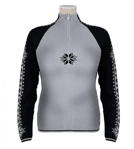 Dale of Norway Slaata Sweater Women's (Silver / Black)
