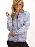 Dale of Norway Solveig Cardigan Women's (Ice Blue)