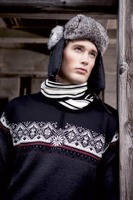 Dale of Norway St. Moritz Sweater Men's (Teer / Torrero / Black