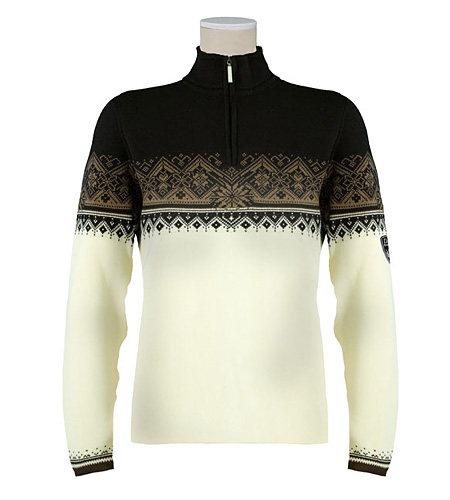 Dale of Norway St. Moritz Sweater Women's (Off-white / Erde / Bl